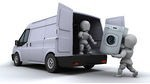 101788-Royalty-Free-RF-Clipart-Illustration-Of-3d-White-Characters-Loading-A-Washing-Machine-In-A-Moving-Van